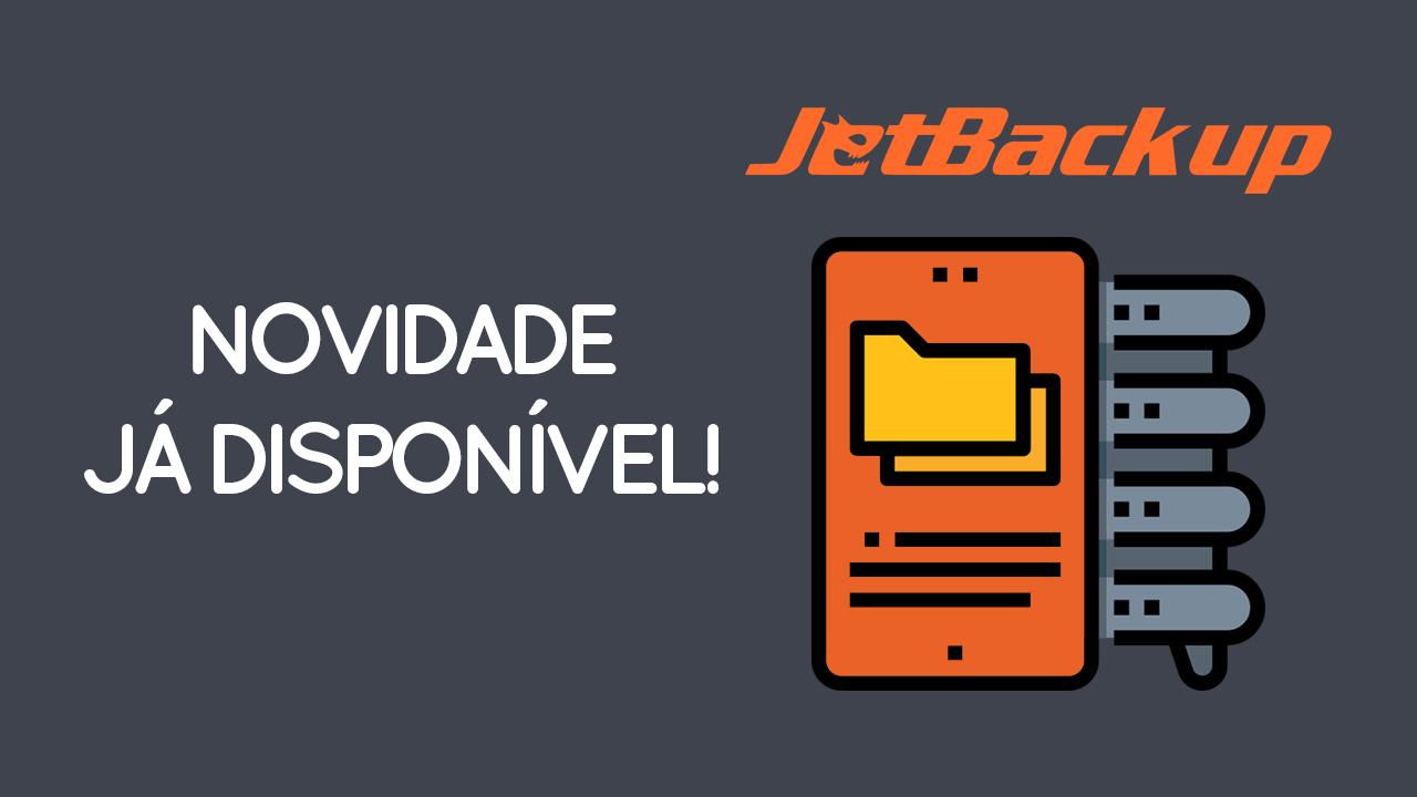 JetBackup Disponível